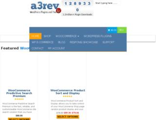 compare.a3rev.com screenshot