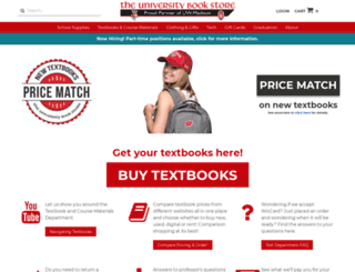 compare.uwbookstore.com screenshot