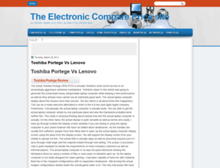 compareelectronic.blogspot.com screenshot