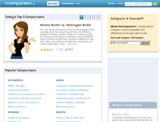 comparisonz.com screenshot