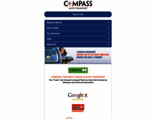 compassautotransport.com screenshot