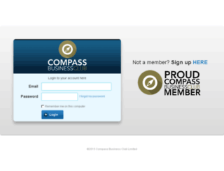 compassbusinessclub.kajabi.com screenshot