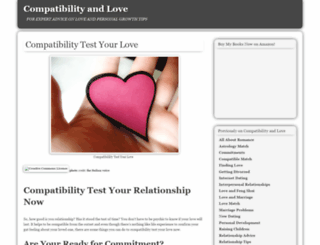 compatibilityandlove.com screenshot