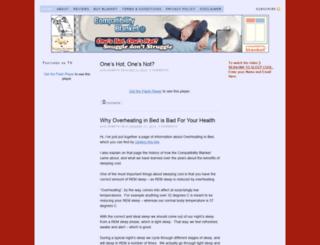 compatibilityblanket.com screenshot