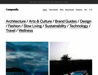 compendia.co.uk screenshot