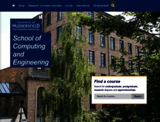 compeng.hud.ac.uk screenshot