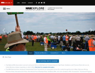 compete.nra.org screenshot
