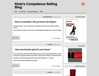 competenceselling.wordpress.com screenshot