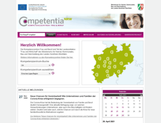 competentia.nrw.de screenshot
