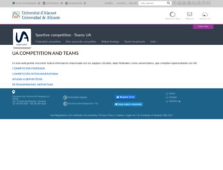 competicio.ua.es screenshot