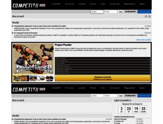 competitii.ro screenshot
