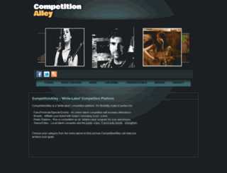 competitionalley.com screenshot