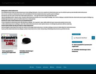 competitionhunter.com screenshot