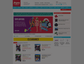 competitions.argos.ie screenshot