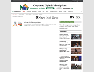 competitions.independent.ie screenshot
