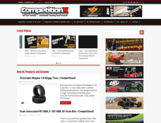competitionx.com screenshot