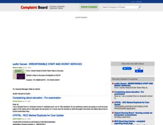 complaintboard.in screenshot