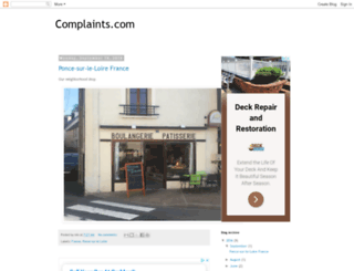 complaints.com screenshot