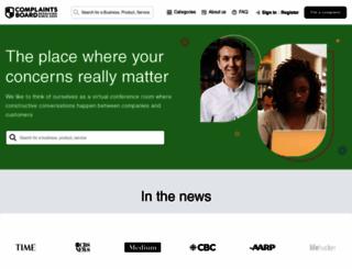 complaintsboard.com screenshot