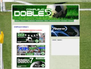 complejodoble5.blogspot.com.ar screenshot