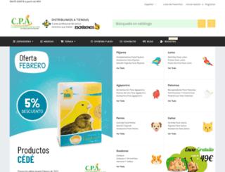complementosparaaves.com screenshot