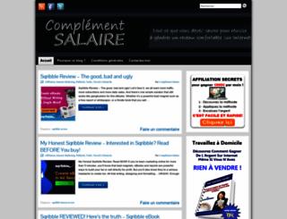 complementsalaire.info screenshot