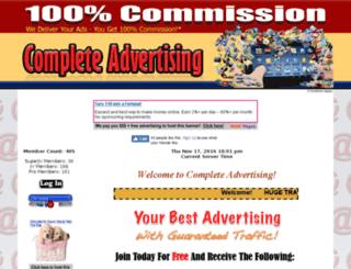 completeadvertising.info screenshot