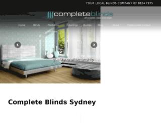 completeblindsnsw.com.au screenshot
