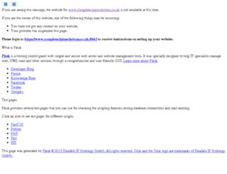 completeclaimsolutions.co.uk screenshot