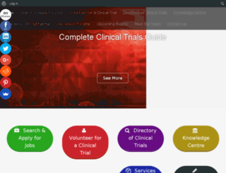 completeclinicaltrialsguide.co.uk screenshot
