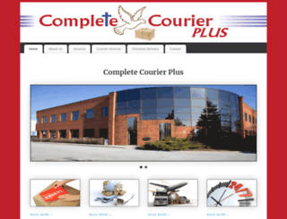 completecourierplus.com screenshot