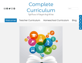 completecurriculum.com screenshot