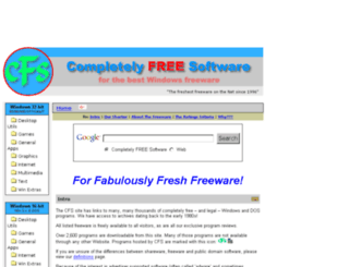 completelyfreesoftware.com screenshot