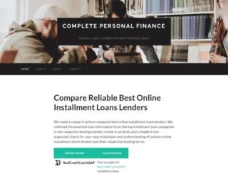 completepersonalfinance.com screenshot
