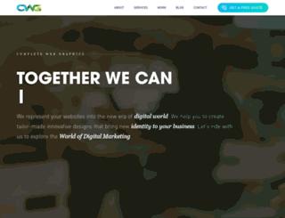 completewebgraphics.com screenshot