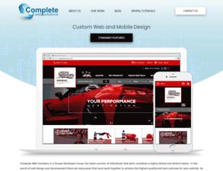 completewebsol.com screenshot
