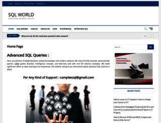 complexsql.com screenshot
