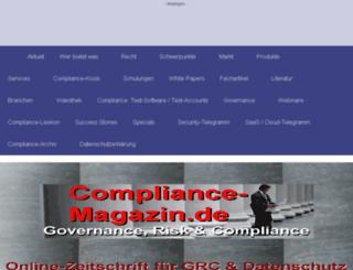 compliance-guide.de screenshot