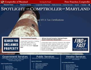 compnet.comp.state.md.us screenshot