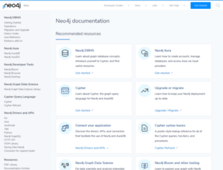components.neo4j.org screenshot