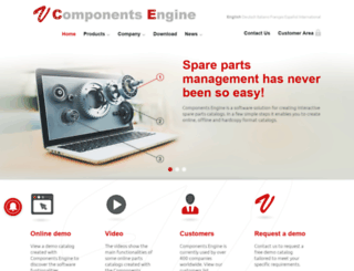 componentsengine.com screenshot