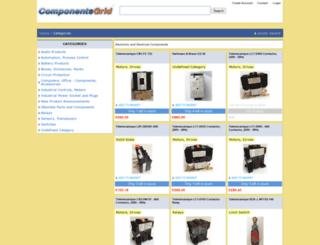 componentsgrid.com screenshot