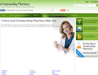compoundingpharmacycenter.com screenshot