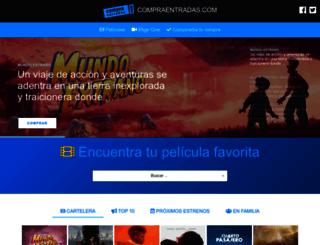 compraentradas.com screenshot