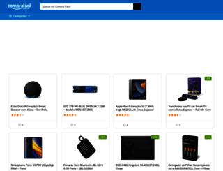 comprafacil.com.br screenshot