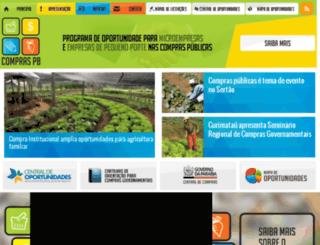 compralegalpb.com.br screenshot