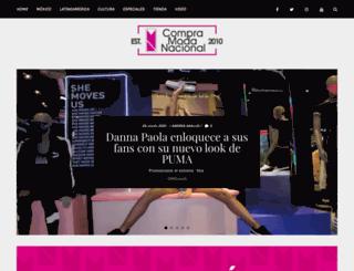 compramodanacional.com screenshot