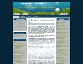 comprare-casa.net screenshot
