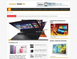 comprartabletok.com screenshot