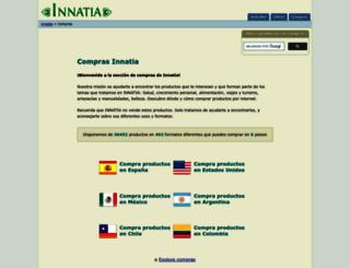 compras.innatia.com screenshot